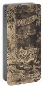 Ex-libris De L?on Lerey (ex-libris Of Leon Lerey) Portable Battery Charger