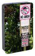 Excessive Property Signs Portable Battery Charger