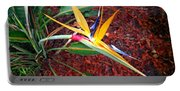 Exotic Bird Of Paradise Portable Battery Charger