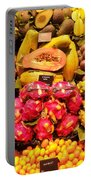 Exotic Fruit Portable Battery Charger