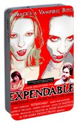 Expendable Poster Portable Battery Charger