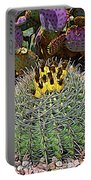 Expressionalism Budding Cactus Portable Battery Charger