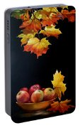Expression Of Yellow Leaves. Portable Battery Charger
