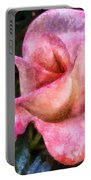 Exquisite Pink Portable Battery Charger