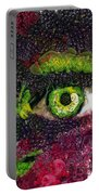 Eye And Butterflly Vegged Out Portable Battery Charger