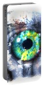 Eye In Hands 002 Portable Battery Charger