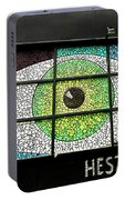 Eye Mosaic Nr. 3  Budapest Hungary Portable Battery Charger