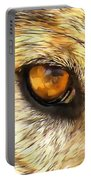 Eye Of A Wolf. Portable Battery Charger