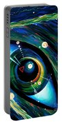 Eye Of Immortal Eternity. Timeless Space 2 Portable Battery Charger
