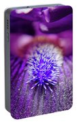 Eye Of Iris Nature Photograph Portable Battery Charger