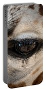 Eye Of The Giraffe Portable Battery Charger