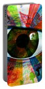 Eye To The Soul Portable Battery Charger