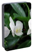 F11 Orchid Flowers Portable Battery Charger