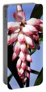 F16 Shell Ginger Flowers Portable Battery Charger