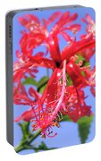 F18 Hawaiian Hibiscus Portable Battery Charger