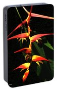 F19 Heliconia Flowers Hawaii Portable Battery Charger