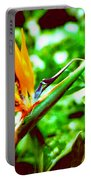 F21 Bird Of Paradise Flower Portable Battery Charger