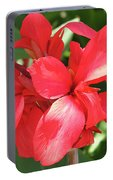 F22 Cannas Flower Portable Battery Charger