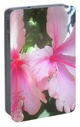 F4 Hibiscus Flowers Hawaii Portable Battery Charger