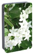 F7 Stephanotis  Flowers Portable Battery Charger