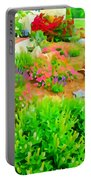 Fabulous Florals 323 Portable Battery Charger