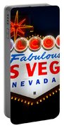 Fabulous Las Vegas Sign Portable Battery Charger