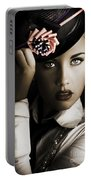 Face Of Dark Fashion Portable Battery Charger