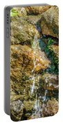Face Of The Mountain Stream Portable Battery Charger