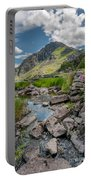 Face Of Tryfan Portable Battery Charger