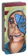 Face Paint And Freedom Portable Battery Charger