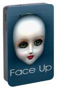 Face Up Portable Battery Charger