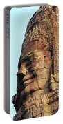 Faces Of The Bayon Temple - Siem Reap, Cambodia Portable Battery Charger