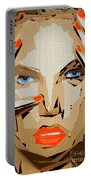 Facial Expressions Xix Portable Battery Charger