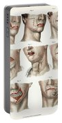 Facial Surgery, Illustration, 1846 Portable Battery Charger