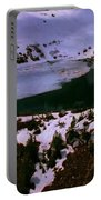 Facinating American Landscape   Snow Mountains Mini Lakes Winter Storms Welcome Trips To Nature Portable Battery Charger