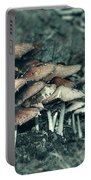 Faded Mushrooms Parade  Portable Battery Charger