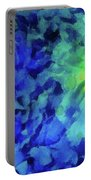Fading Blue Portable Battery Charger
