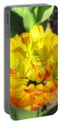 Fading Flower Portable Battery Charger