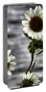 Fading Sunflowers Portable Battery Charger