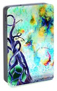 Faeries And Butterflies Portable Battery Charger