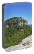 Fair Weather At Pilot Mountain Portable Battery Charger