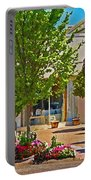 Fairhope Ave With Clock Looking North Up Section Street Portable Battery Charger