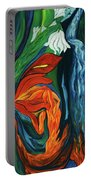 Fairies Of Fire And Ice Portable Battery Charger