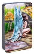 Fairy Amongst Poison Portable Battery Charger