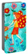 Fairy Cakes Portable Battery Charger by Sushila Burgess