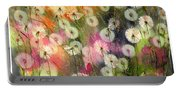 Fairy Dandelions Fields Portable Battery Charger