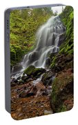 Fairy Falls In Columbia Gorge Portable Battery Charger
