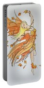 Fall Fairy Portable Battery Charger
