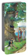 Fairy-tale Pushkin Lukomorye Portable Battery Charger