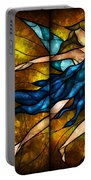 Fairy Tetraptych Portable Battery Charger by Mandie Manzano